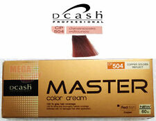 DCASH Permanent Hair dye color cream REDDISH COPPER CP 504 Copper Golden Reflect