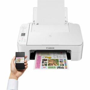 canon pixma ts3151 stampante wifi bianca o nera multifunzione scanner fotocopia