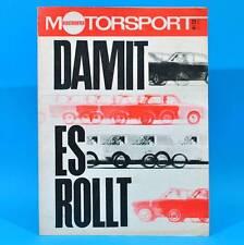 DDR Illustrierter Motorsport IMS 25/1968 Wasserski Vauxhall Victor DDR-Meister