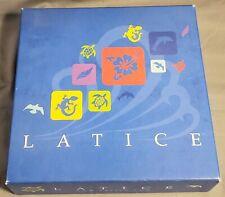 Latice Strategy Board Game 2015 Publisher: Adacio ~ Very good