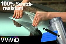 VViViD Clear Paint Protection Bulk Vinyl Wrap Film 12 Inches x 84 Inches Incl...