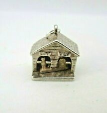 VINTAGE 925 STERLING SILVER CHARM NUVO WEATHER STATION WET FINE 3.8 g