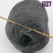 Sale New 1 Ball x 50gr Luxurious Soft Mongolian Pure Cashmere Hand Knit Wool 07