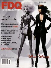 Fashion Doll Quarterly FDQ Magazine Spring 2009 AvantGuards Vita Wilde Gene Dawn