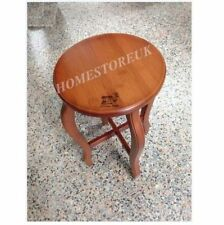 Wood Less than 30 cm Width Unbranded Side & End Tables