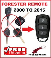 SUBARU FORESTER REMOTE CONTROL KEYLESS ENTRY FOB 2000 TO 2015 2005 2009 2011