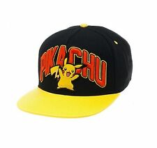 NWOT Pokemon Pikachu Baseball Men's Snapback Cap (One Size) Hat T-Shirt Shirt
