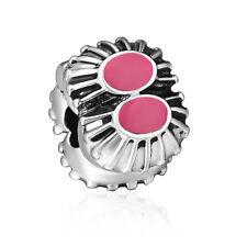 Best Gifts Silver Clip Clasp Bead Flower Serie Fit European 925 Charm Bracelets