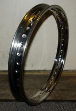 """Felge Edelstahl Rim stainless polished WM3 2.15 19"""" 40 dimple BSA Norton Triumph"""