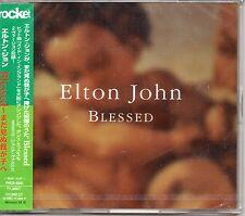 MAXI CD Elton JOHN Blessed Japan 3-Track Jewel case NEW SEALED
