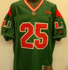 "Miami Hurricanes ""Da U"" NCAA Football Jersey- Size Adult Medium Free Ship"