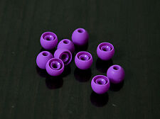 20X Purple gel earbud ear buds piece TIPS for tour sony earphones phone Small Rd