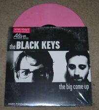 """BLACK KEYS 12"""" PINK vinyl LP THE BIG COME UP Very Limited OOP"""