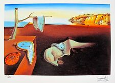 Salvador Dali PERSISTENCE OF MEMORY Facsimile Signed & Numbered Giclee Art