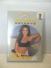 Gunnar Peterson's Core Secrets FUNDAMENTALS DVD Brooke Burke Brand New Sealed