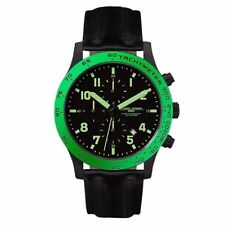 Brand NEW Jorg Gray 1900 Men's Chronograph Green Accents Watch JG1900-13