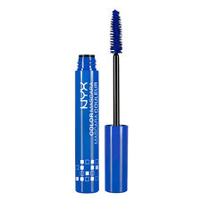 1 NYX Color Mascara CM02 Blue 0.32 oz Brand New Sealed