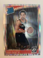 2018-19 Panini Donruss Optic Shock Prizm Gary Trent Jr Rated Rookie RC Card