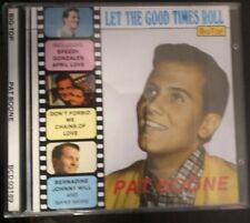 Pat Boone ‎– Let The Good Times Roll ‎ Vol. 31 Cd  1990 Big Top ‎NM/Mint