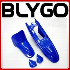 BLUE Plastic Fender Kit Body Cover Fairing Yamaha PW50 PY50 PEEWEE 50 PIT Bike
