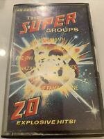The Super Groups - Black Sabbath The Who Deep Purple Vinyl LP Album 1977 good+