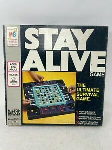 Vintage 1971 Stay Alive Board Game by Milton Bradley ~ Complete & Works Great!