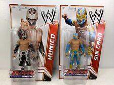 WWE Sin Cara Basic & Hunico Lot Series 18 Raw Supershow Wrestling MOC Figures