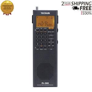 For Tecsun PL-368 Full Band Radio Stereo SSB DSP Digital Demodulation USB Charge