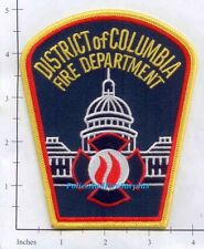 Washington DC - District of Columbia Fire Dept Patch