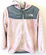 Girl's North Face Pink Full Zip Sweater Size 6T