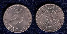 BELIZE 50 CENT 19746CU/NI  FDC  british honduras mrm