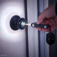 Lightweight Pocket Key Bar Holder Organizer Clip LED Keychain Keyring EDC Gear