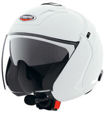 Caberg Downtown S Open Face Jet Motorcycle Scooter Helmet White - XS