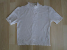 Women's Size 8 Ivory Cropped Top From Top Shop