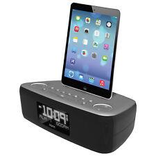 iHome iPod iPad iPhone FM Clock Radio Alarm Lightning Docking Speaker iDL44 GC