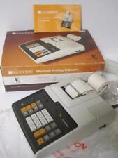 Vintage Lloyd'S Printing Calculator Model E109 Desktop Super Rare Mint In Box