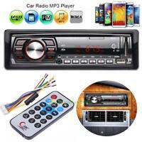 FM Car Stereo Radio Bluetooth 1 DIN Handsfree SD/USB AUX Head Unit MP3 Player