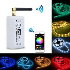 Wireless RGB Wifi LED Strip Controller for iOS iPhone Smartphone Tablet US U5E0