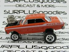 Johnny Lightning 1:64 LOOSE  Collectible Orange 1963 CHEVROLET NOVA SF ZINGERS!