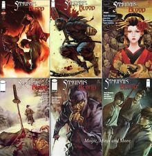 SAMURAI'S BLOOD (6) Issue SET #1 2 3 4 5 6 iMAGE Comic 1st print
