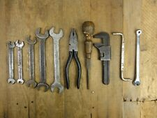 Classic Car Vintage Tool Kit Roll ~1 BMC TW AF SPANNERS PLIERS SCREWDRIVER