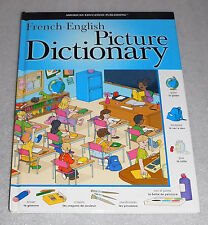 French English Picture Dictionary HC 2005 American Education Publishing