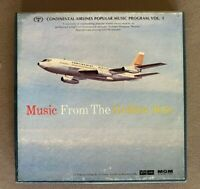 Continental Airlines Popular Music Program Volume 1, REEL TO REEL 4 TRACK TAPE