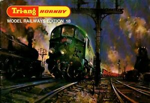 Tri-ang Hornby Model Railways Catalogue Edition 18 1972 with price list