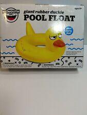 Giant Rubber Duckie Pool Float