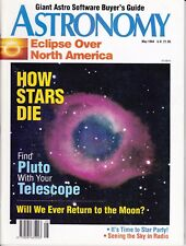 Astronomy Magazine May 1994, Return to the Moon, Pluto, North America Eclipse