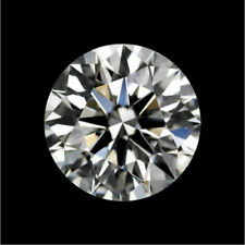 1.0cts White Moissanite Diamond H Color 6.5mm Round Vvs2 Clarity Hardness 10 USA