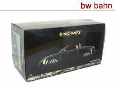 MiniChamps 1:18 100015030 Audi TT Roadster 2006 Cabriolet Black metallic schwarz