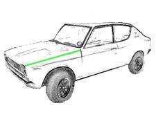 Reparaturblech - Kotflügelbefestigungskante links für Datsun / Nissan 100A E10