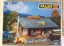 120248 Faller HO Kit of a Goods Shed, Patinated model - NEW